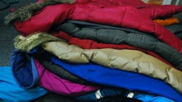 Winter wear for Poor Homeless in LA County.